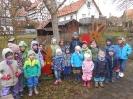 Kindergarten, wo Freunde sich treffen und feiern